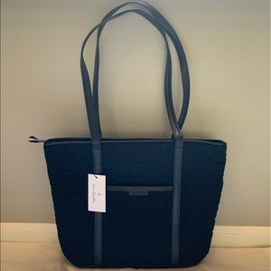 Vera Bradley   Classic Black Small Trimmed Bag
